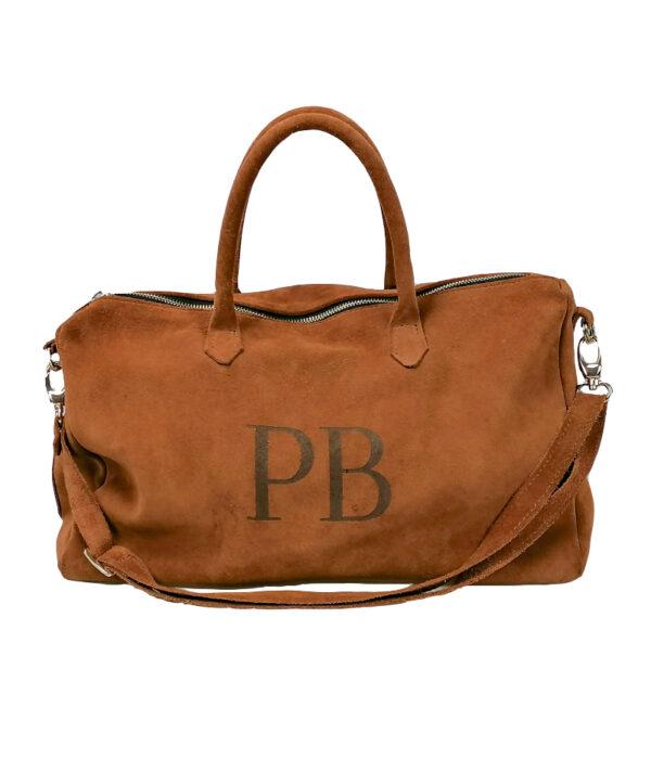 borsa in pelle personalizzata