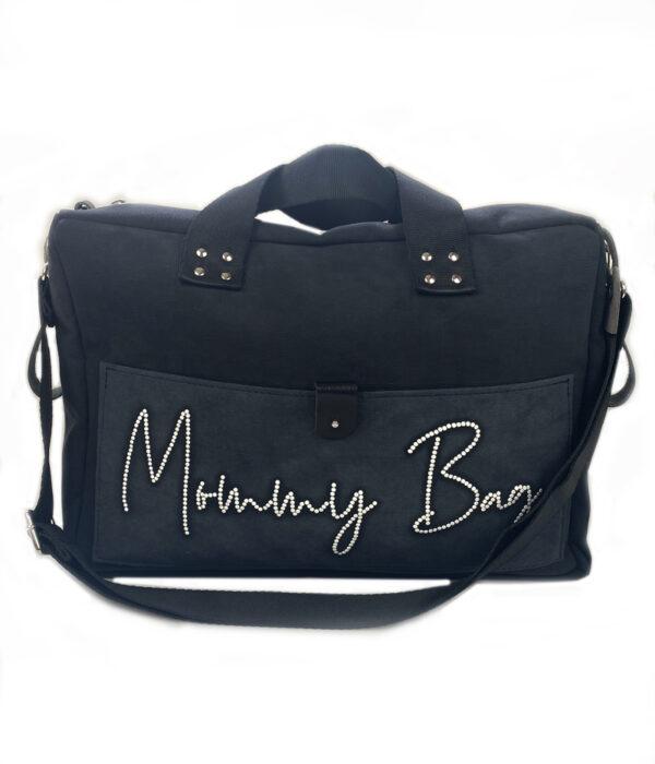 Mommy bag nera borsa passeggino